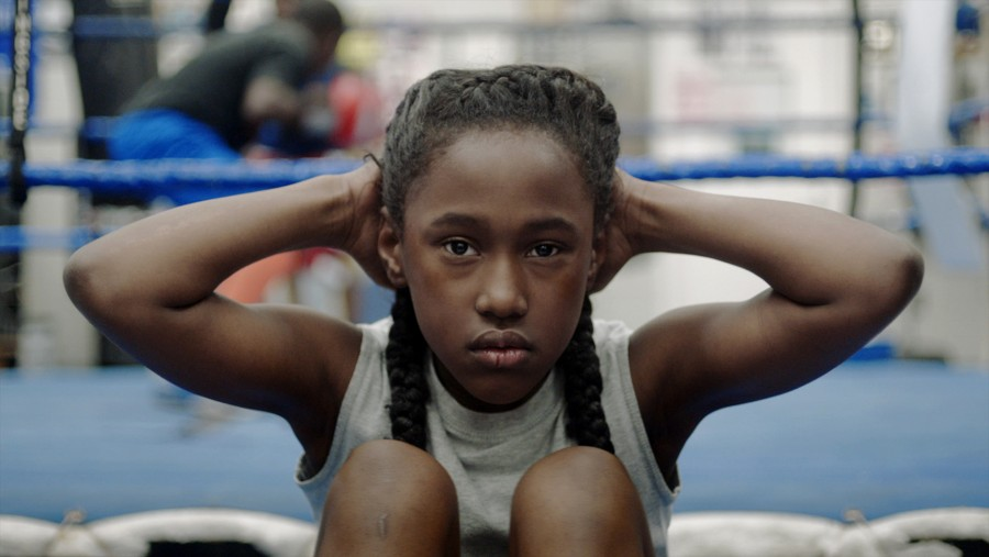 Actress Royalty Hightower in Anna Rose Holmer's The Fits