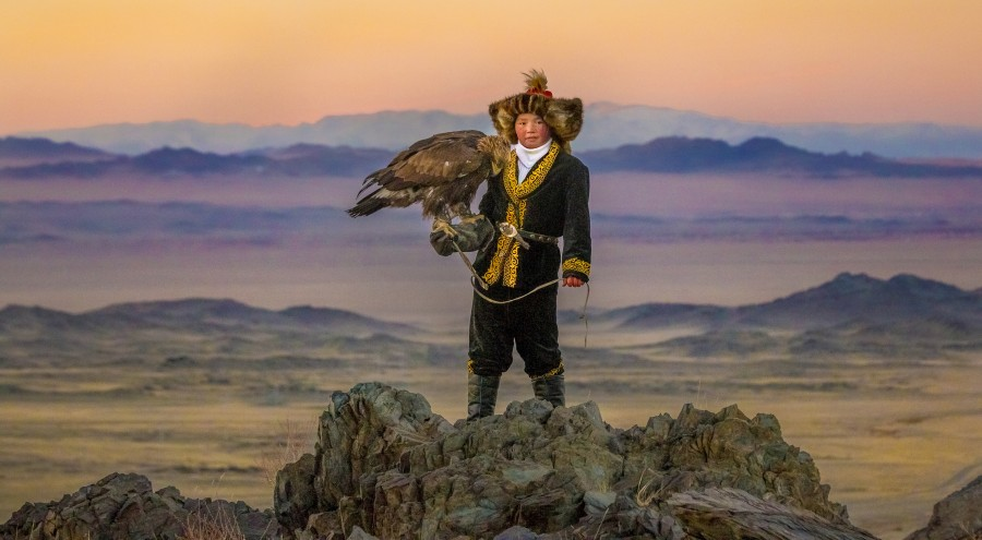 The Eagle Huntress , Otto Bell