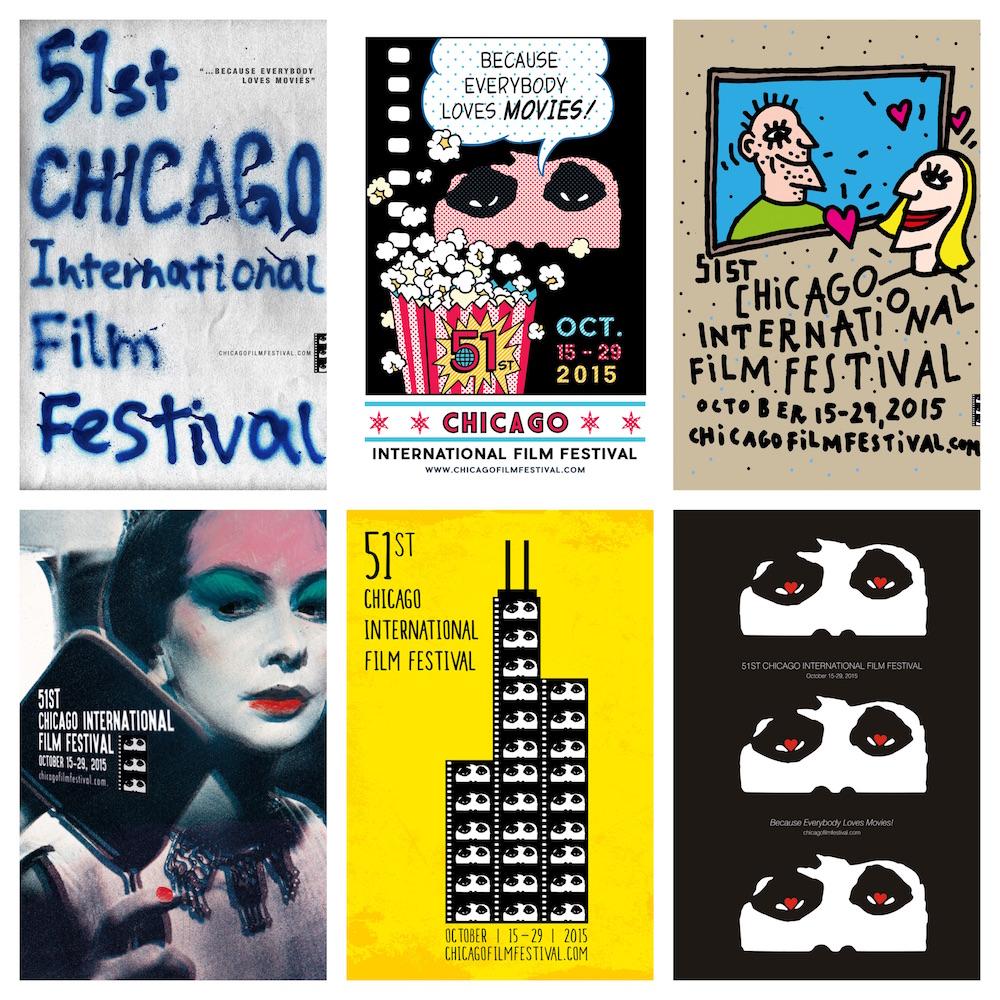 Design 2016 Chicago Film Festival Poster Competition, Win $2,500.