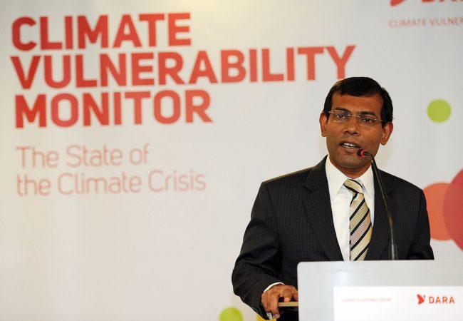 THE ISLAND PRESIDENT's Mohamed Nasheed, Granted Refugee Status in Britain