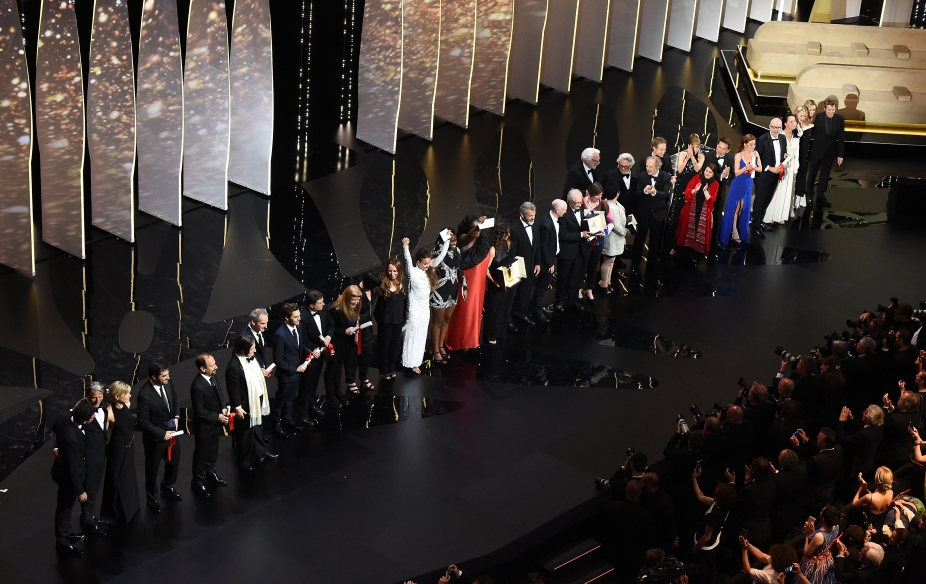The Jury and the Winners of the 69th Festival of Cannes