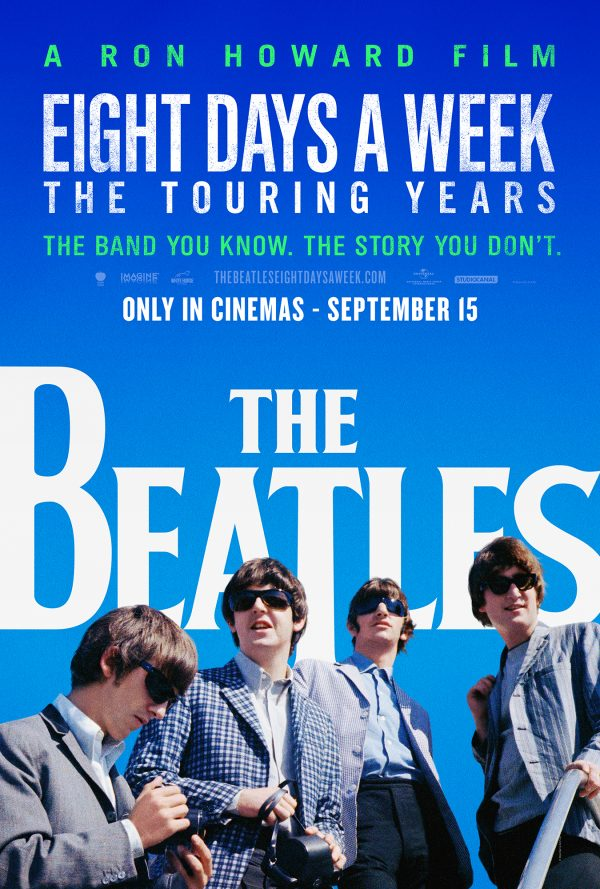 The Beatles: Eight Days A Week - The Touring Years Official Poster