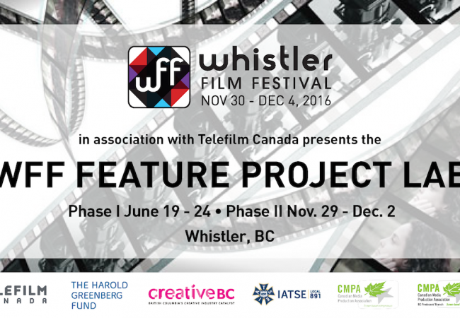 6 Producers + Projects Selected for 2016 Whistler Film Festival Feature Project Lab