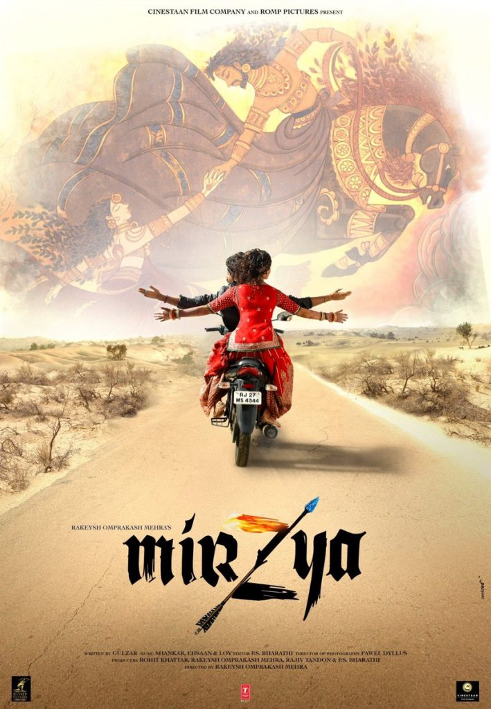 MIRZYA Official Movie Poster