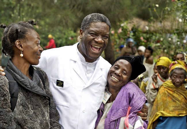 Dr. Denis Mukwege in The Man Who Mends Women - The Wrath of Hippocrates