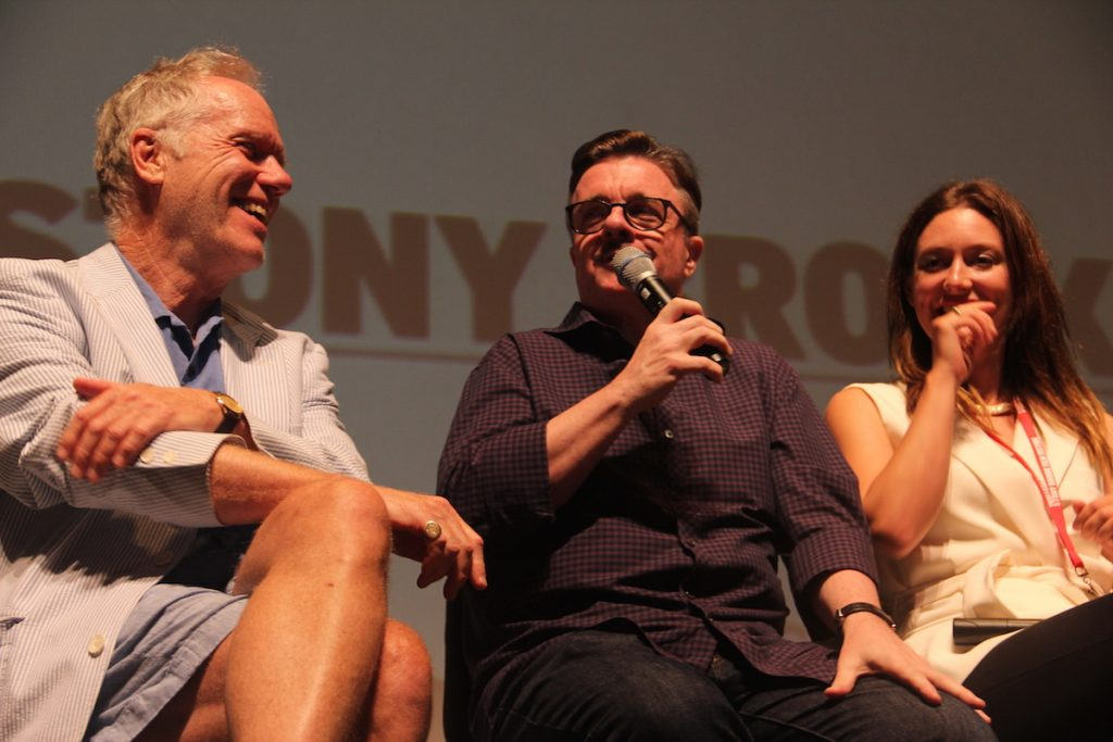 Nathan Lane at 2016 Stony Brook Film Festival screening of No Pay Nudity
