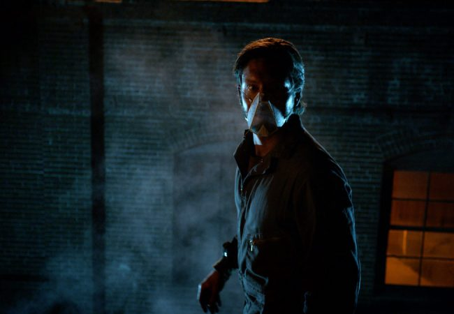 Barrett James as the Masked Miner in Teddy Cecil's HELIO produced by Shadow Council Productions
