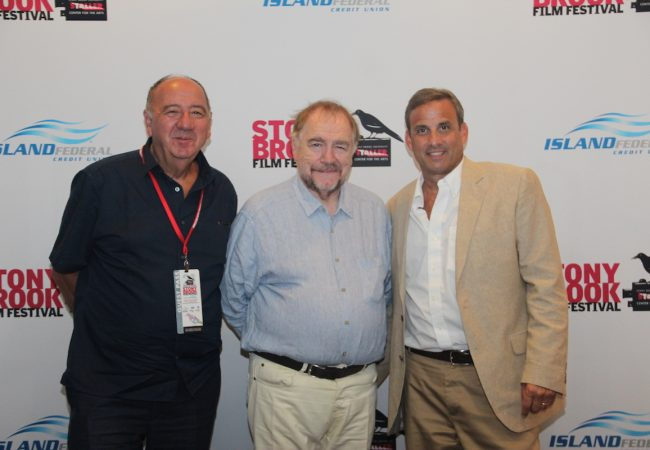 Actor Brian Cox and Director János Edelényi of THE CARER, Honored at Opening Night of 2016 Stony Brook Film Festival