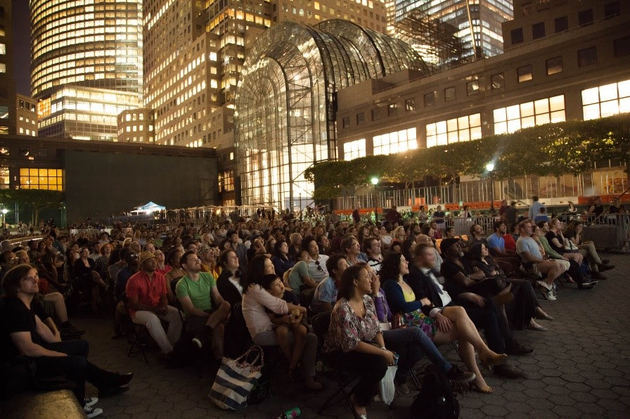 Rooftop Films at Brookfield Place. Photo Credit: Rooftop Films 7/24/2014