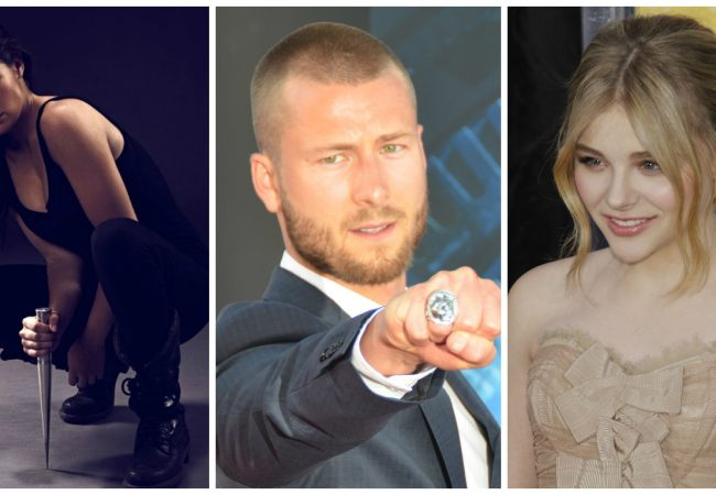 Zoey Deutch, Glen Powell and Chloe Grace Moretz