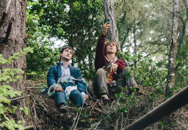 Swiss Army Man, starring Paul Dano and Daniel Radcliffe