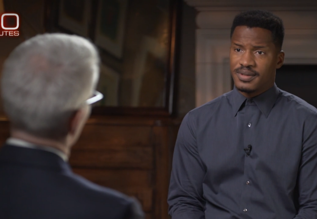 "THE BIRTH OF A NATION's Nate Parker: ""I don't feel guilty"" in 60 Minutes Interview 