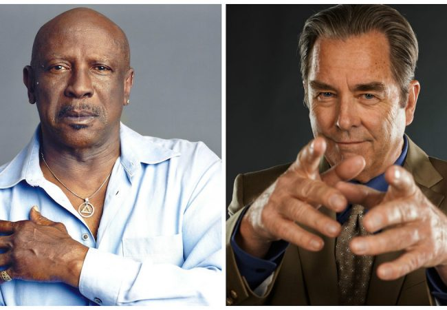 Louis Gossett, Jr. and Beau Bridges