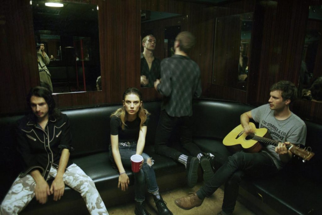 wolf alice on the road