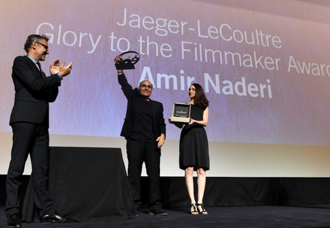 Iranian director Amir Naderi Receives Jaeger-LeCoultre Glory to the Filmmaker Award