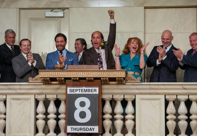 (Center L-R) EDGAR RAMIREZ, MATTHEW McCONAUGHEY and BRYCE DALLAS HOWARD star in GOLD