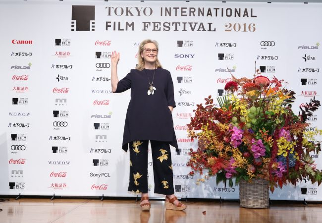 Meryl Streep at 29th Tokyo International Film Festival