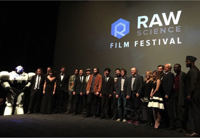 ARRIVAL Sweeps 3rd Raw Science Film Festival Awards