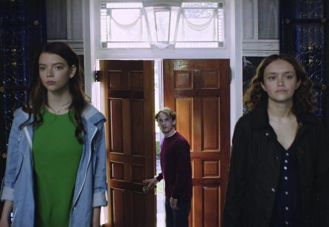 Anya Taylor-Joy, Anton Yelchin and Olivia Cooke appear in Thoroughbred by Cory Finley, an official selection of the NEXT program at the 2017 Sundance Film Festival. Courtesy of Sundance Institute.