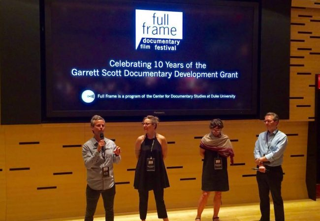 Garrett Scott Documentary Development Grant.