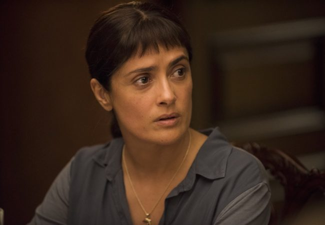 Salma Hayek appears in Beatriz at Dinner by Miguel Arteta