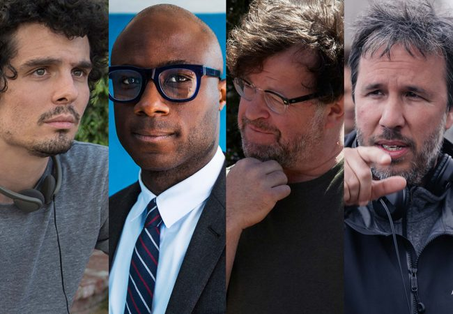 Damien Chazelle, Barry Jenkins, Kenneth Lonergan, and Denis Villeneuve