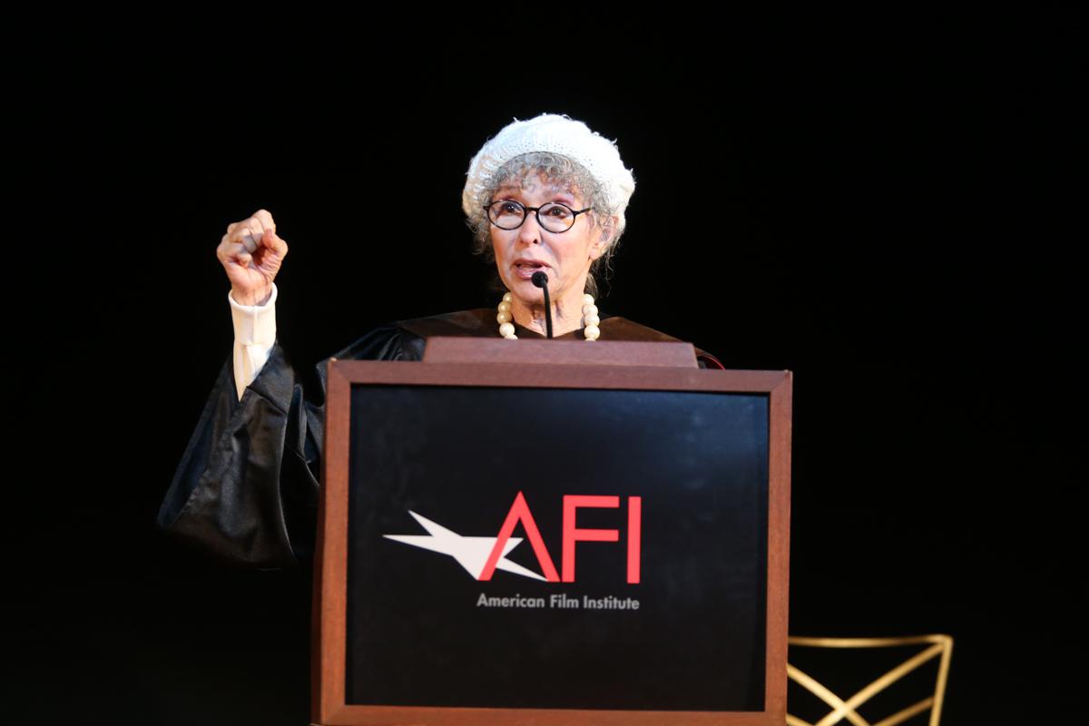 AFI 2016 Honorary Degree recipient Rita Moreno