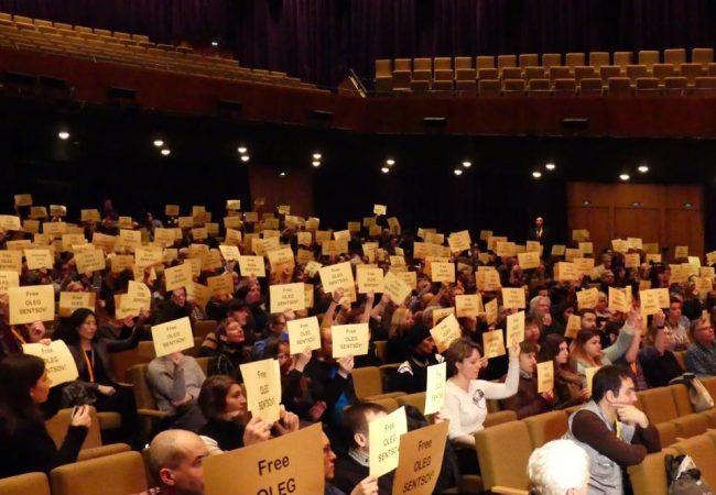 Berlinale 2017: Protest for Arrested Director Oleg Sentsov