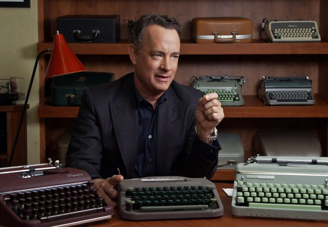 Tom Hanks in CALIFORNIA TYPEWRITER