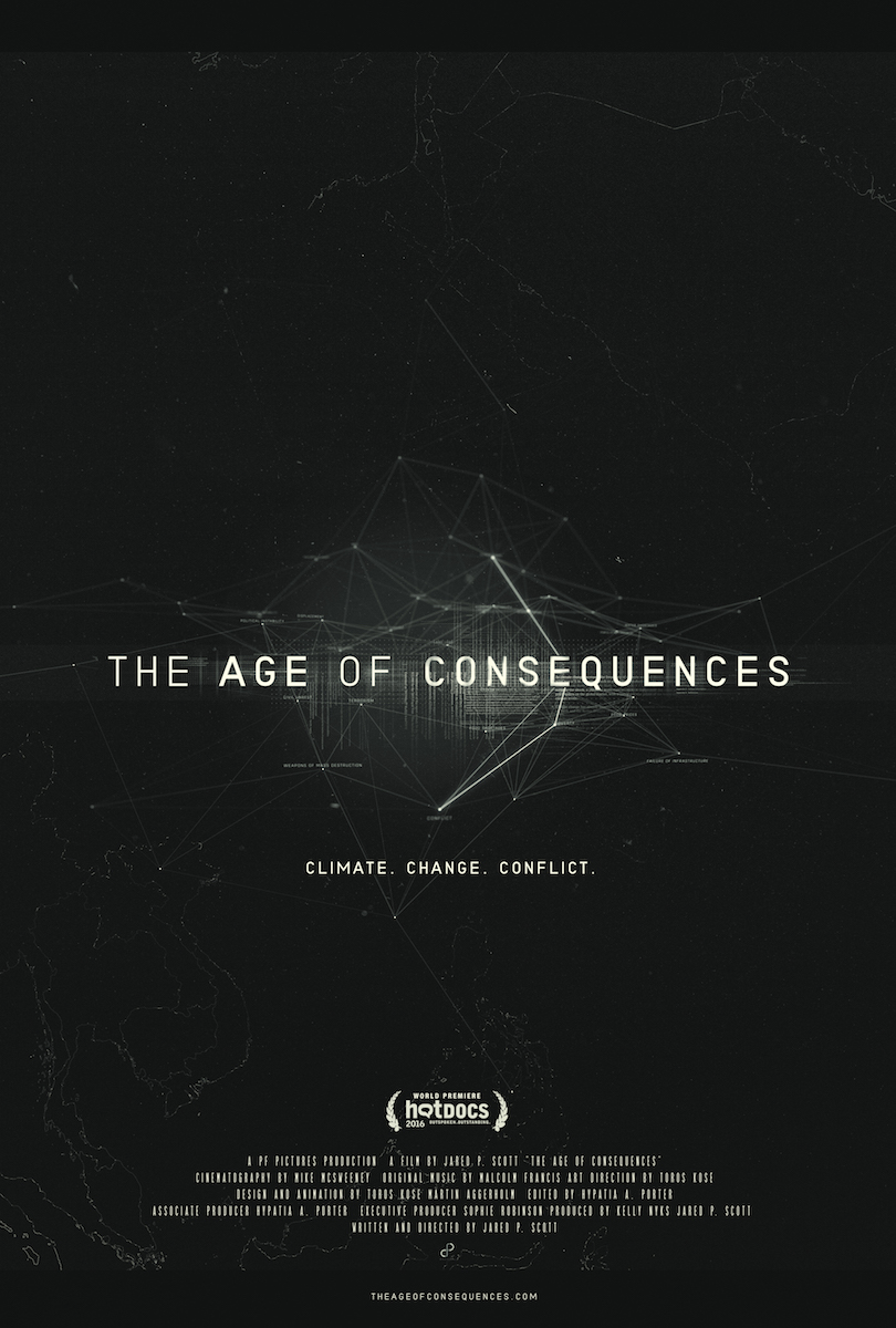 Jared P. Scott, The Age of Consequences Poster