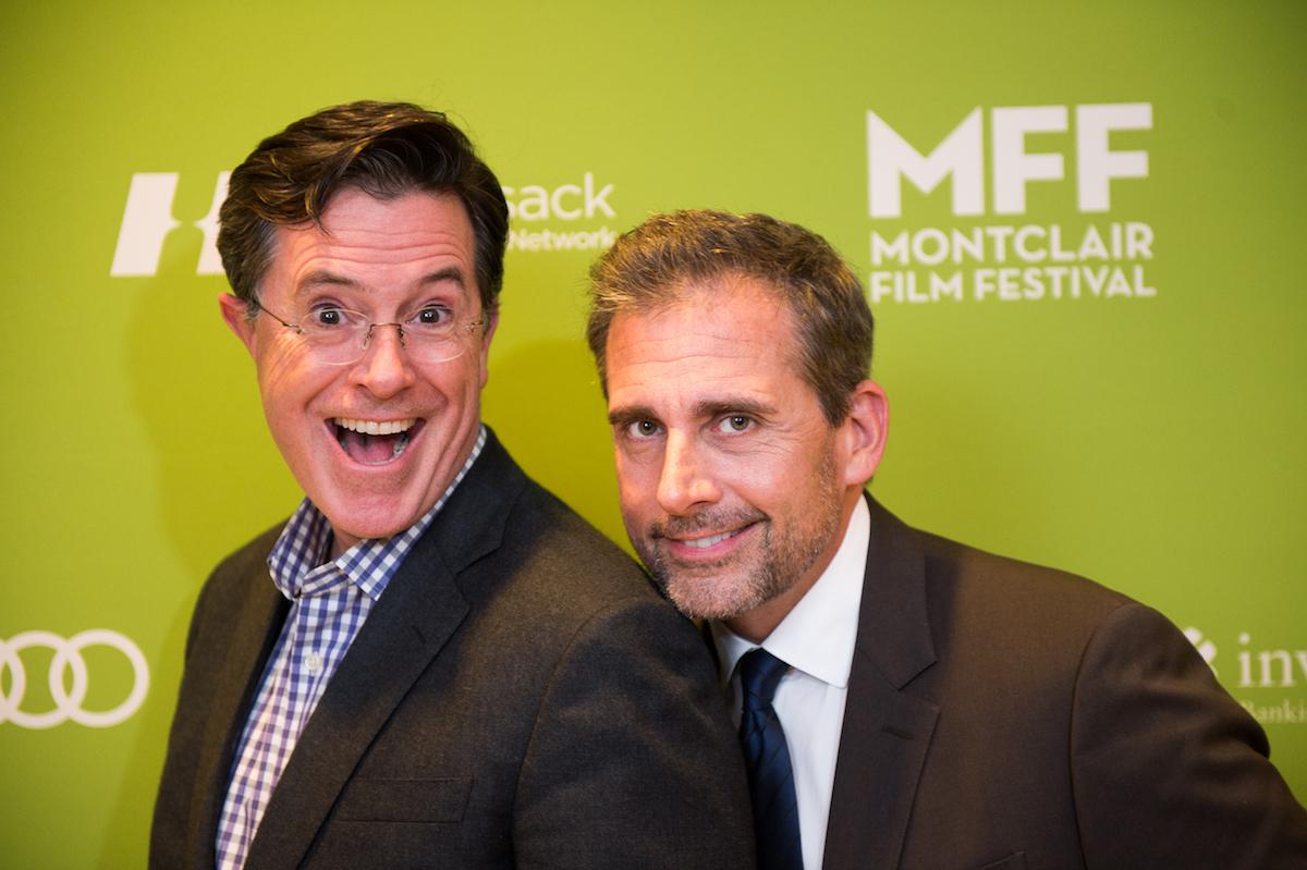 Stephen Colbert and Steve Carell Montclair Film Festival