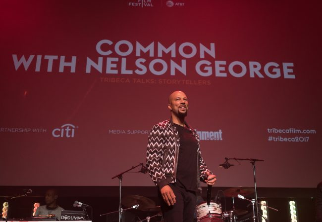 Common at 2017 Tribeca Talk: Storytellers, Tribeca Film Festival