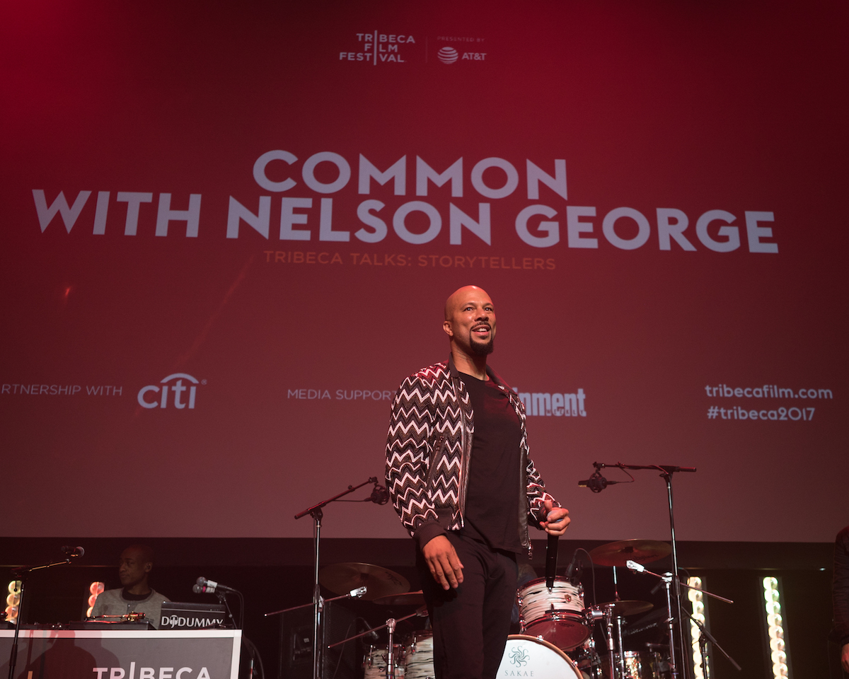 Common, Nelson George 2017 Tribeca Talk: Storytellers