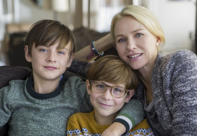 (L to R) Jaeden Lieberher as Henry, Jacob Tremblay as Peter, and Naomi Watts as Susan star in Colin Trevorrow's THE BOOK OF HENRY, a Focus Features release. Credit: Alison Cohen Rosa / Focus Features