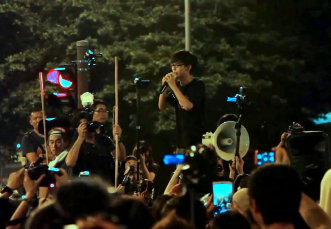 Joshua Wong appears in Joshua: Teenager vs. Superpower