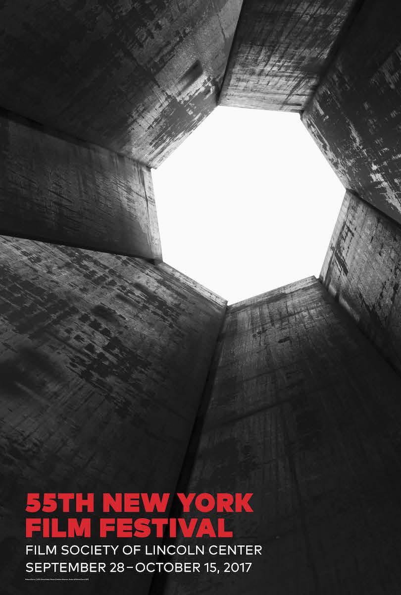 New York Film Festival 2017 Official Poster Designed by Richard Serra