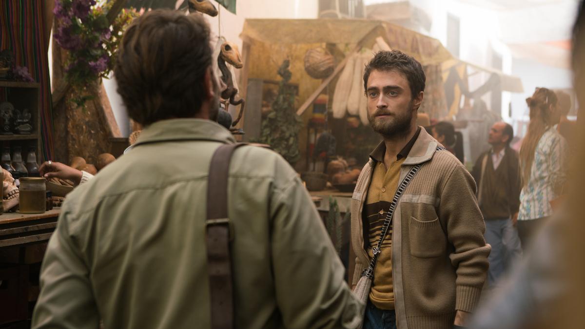 JUNGLE Daniel Radcliffe (Yossi), Thomas Kretschmann (Karl)