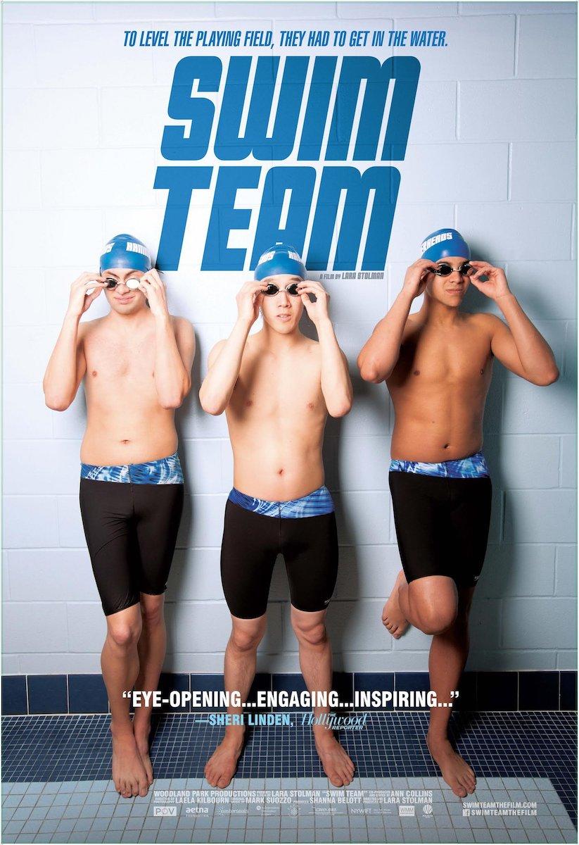 swim team documentary poster