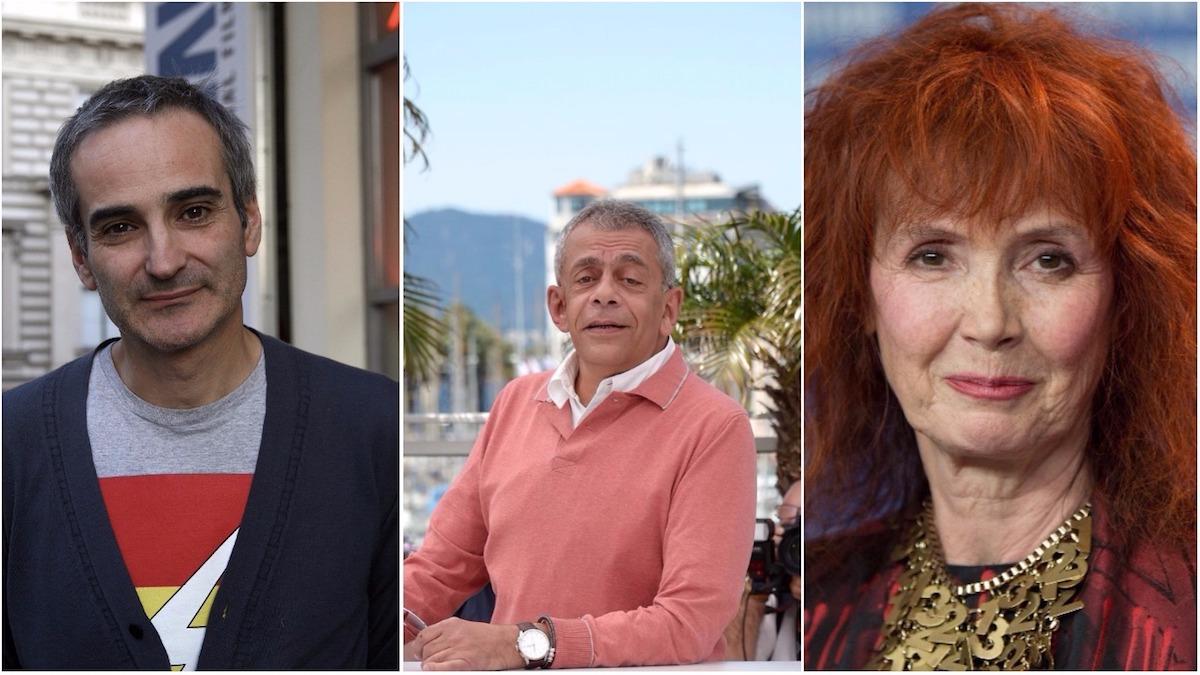 Olivier Assayas, Yousry Nasrallah and Sabine Azéma