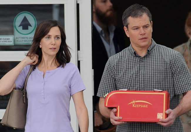 DOWNSIZING Starring Matt Damon and Kristen Wiig to Open Venice International Film Festival