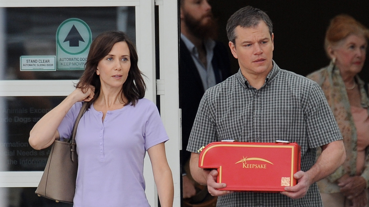 Downsizing, directed by Alexander Payne and starring Matt Damon, Christoph Waltz, Hong Chau and Kristen Wiig