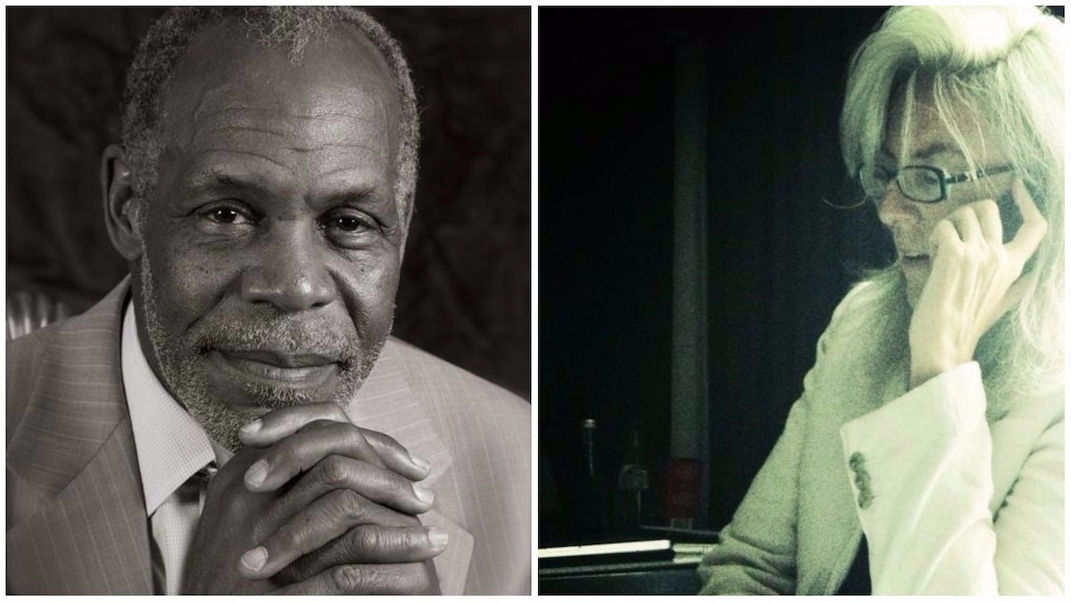 Danny Glover and Joslyn Barnes