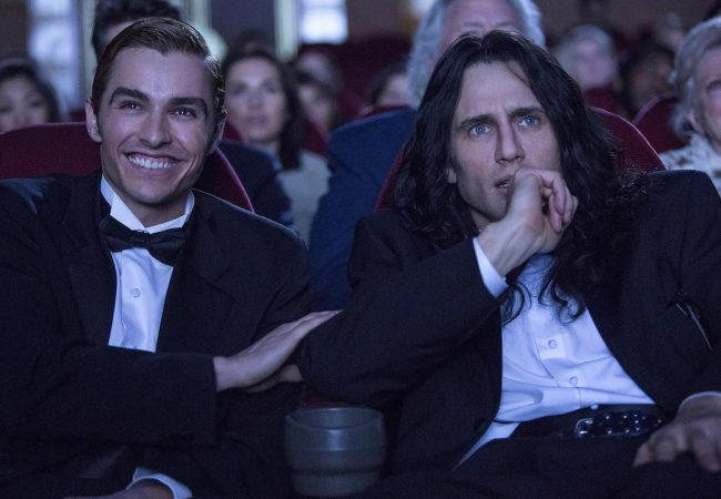 THE DISASTER ARTIST, JAMES FRANCO