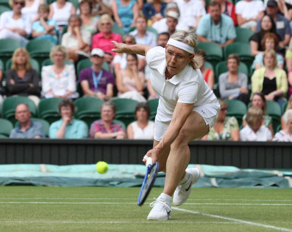 Martina Navratilova, WInning