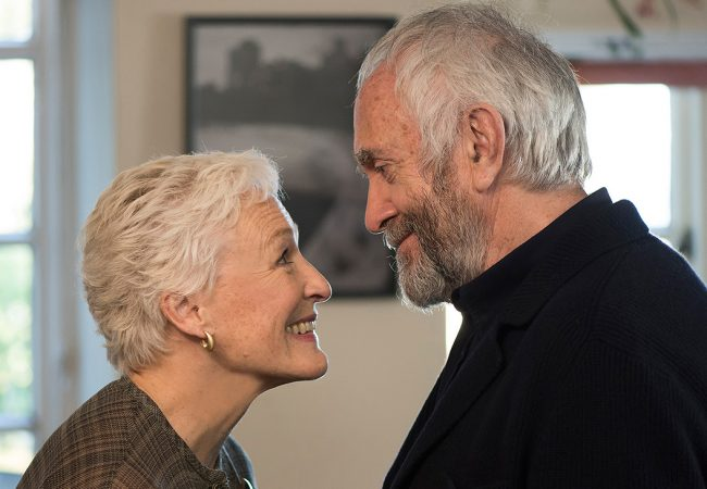 Glenn Close (with Jonathan Pryce) in The Wife