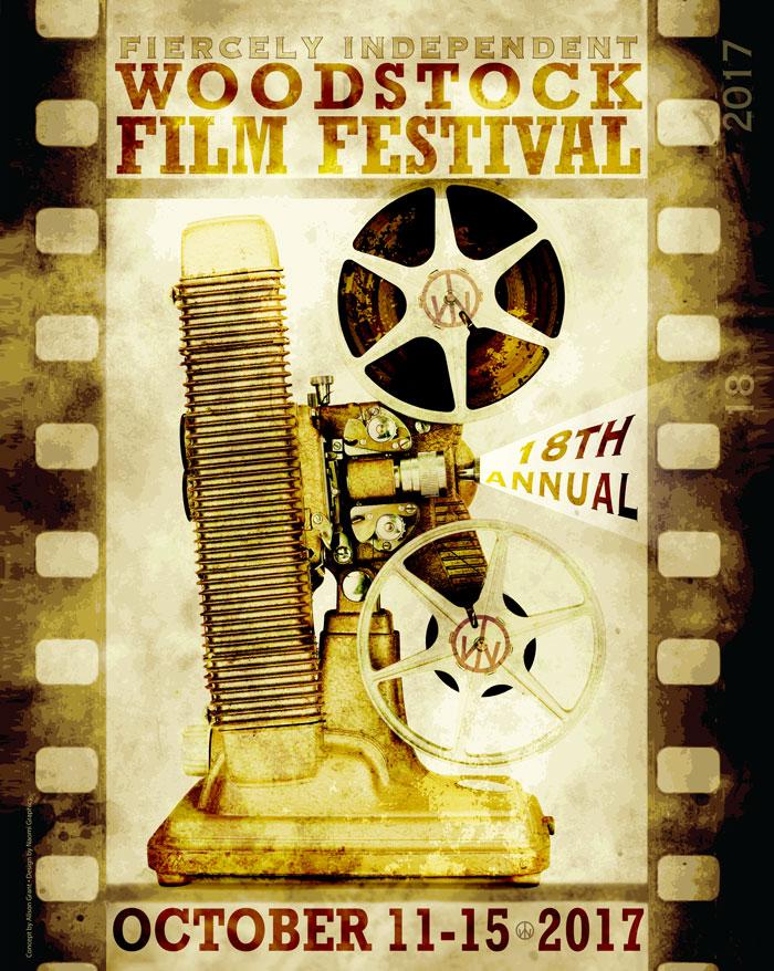 2017 Woodstock Film Festival poster