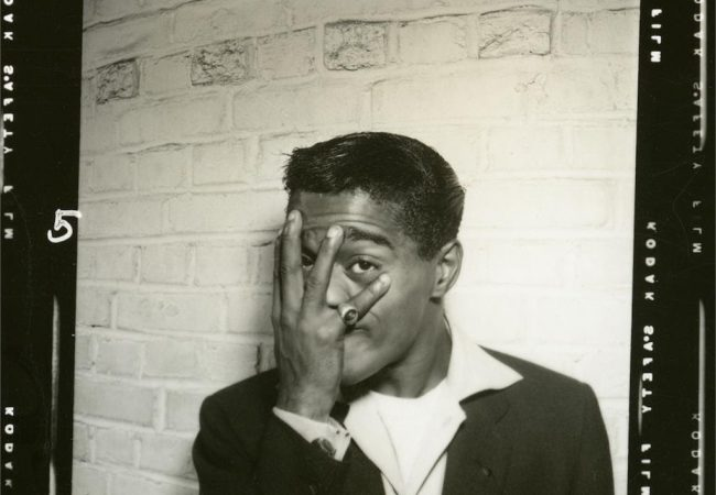 Sammy Davis, Jr. backstage photo from the documentary SAMMY DAVIS, JR.: I'VE GOTTA BE ME. Photo Credit: The Estate of Altovise Davis