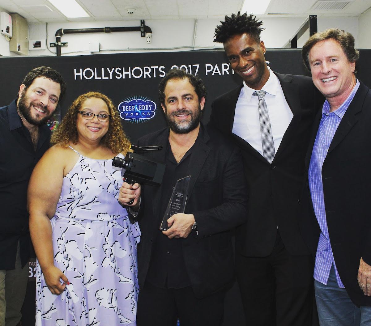 2017 HollyShorts Film Festival award winners Brett Ratner