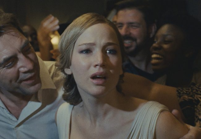 Mother!, starring Jennifer Lawrence, Javier Bardem