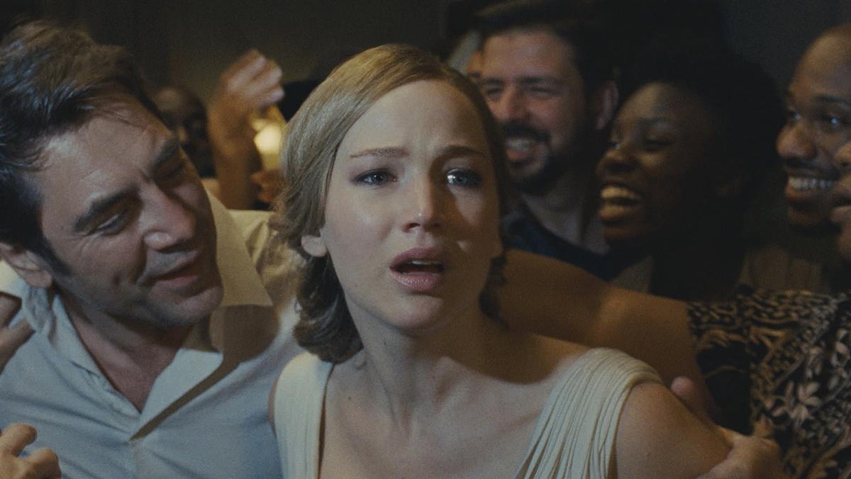 Mother!, starring Jennifer Lawrence, Javier Bardem and Michelle Pfeiffer